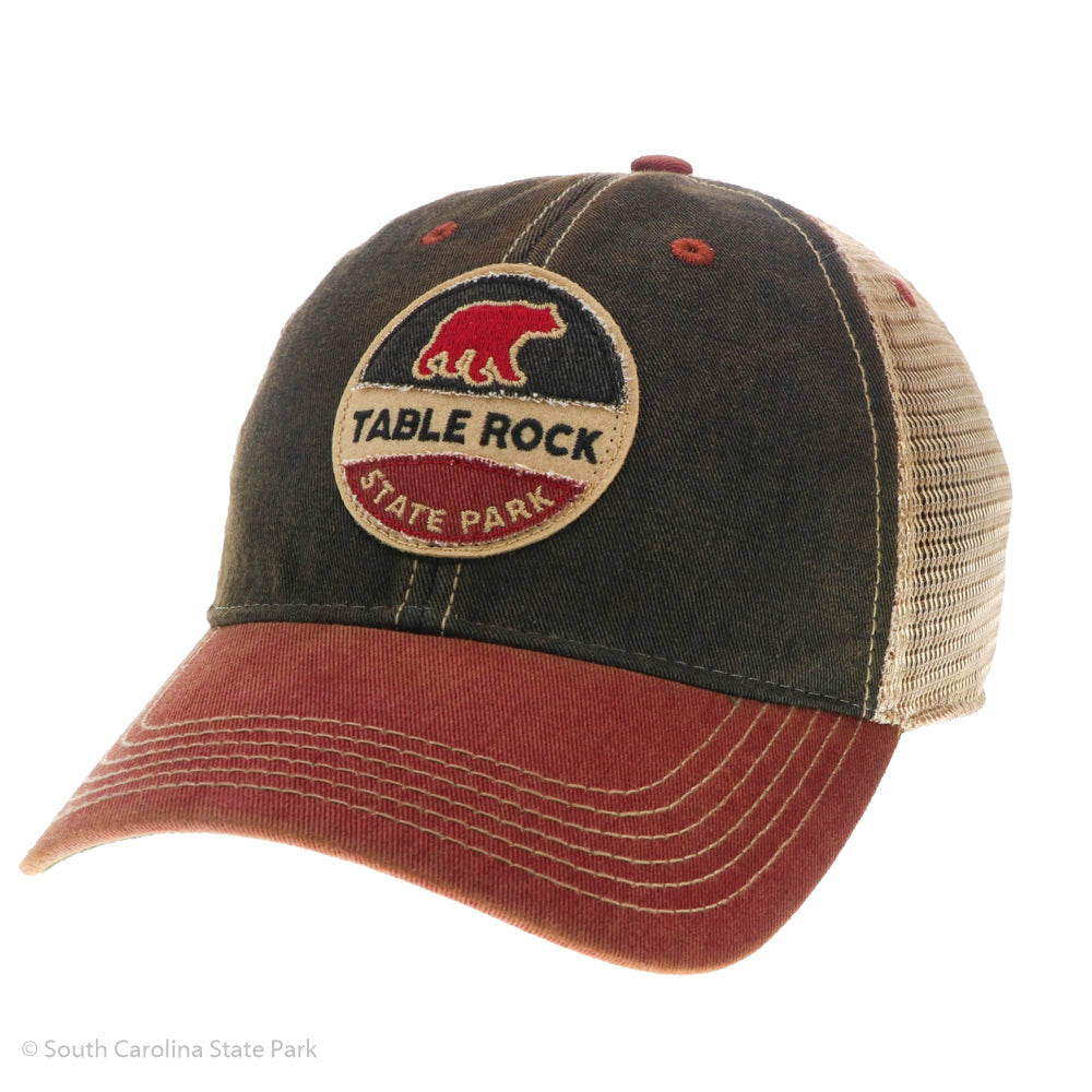 bfd60b71828a4 Round Bear Mesh Trucker Hat - ADI01665 - South Carolina State Park ...