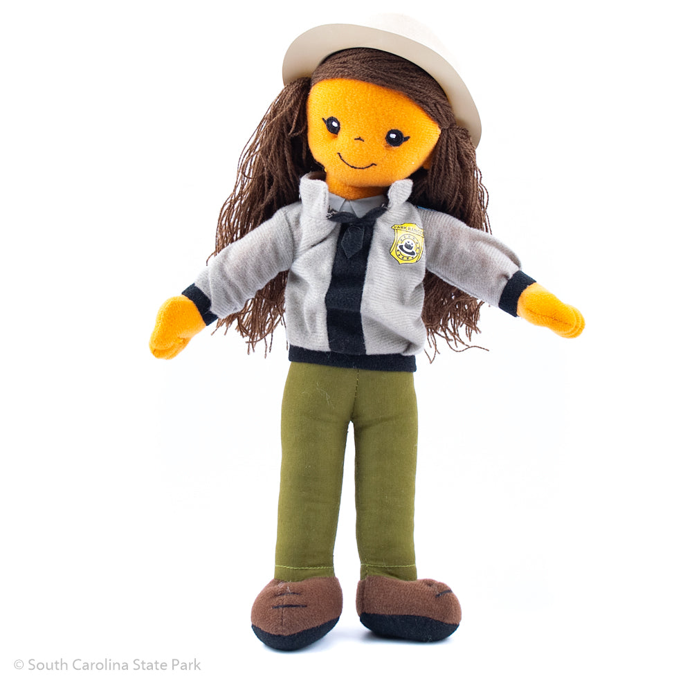 "11"" Female and Male Park Ranger Doll Plush - ADI01838"