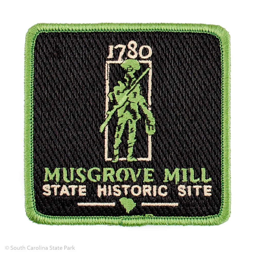 Battle of Musgrove Mill 1780 Soldier Patch - ADI01880