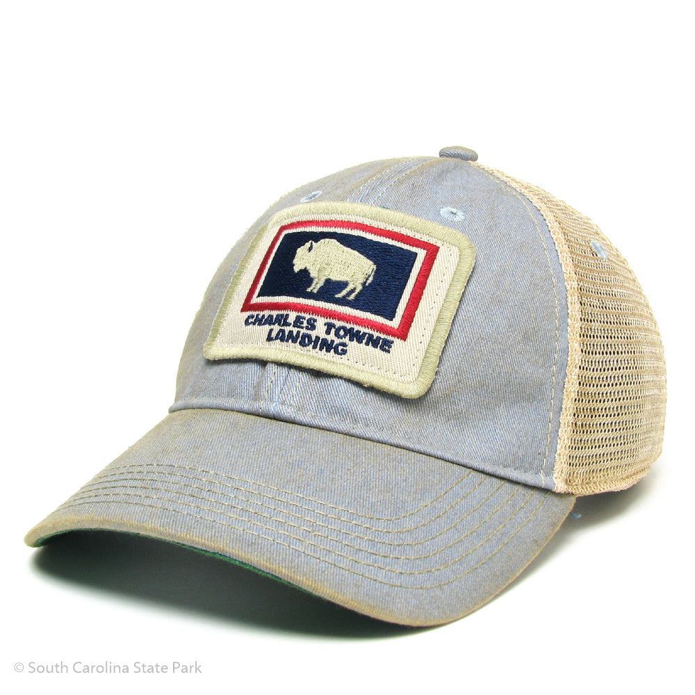 Charles Towne Landing Bison Hat -South Carolina State Parks