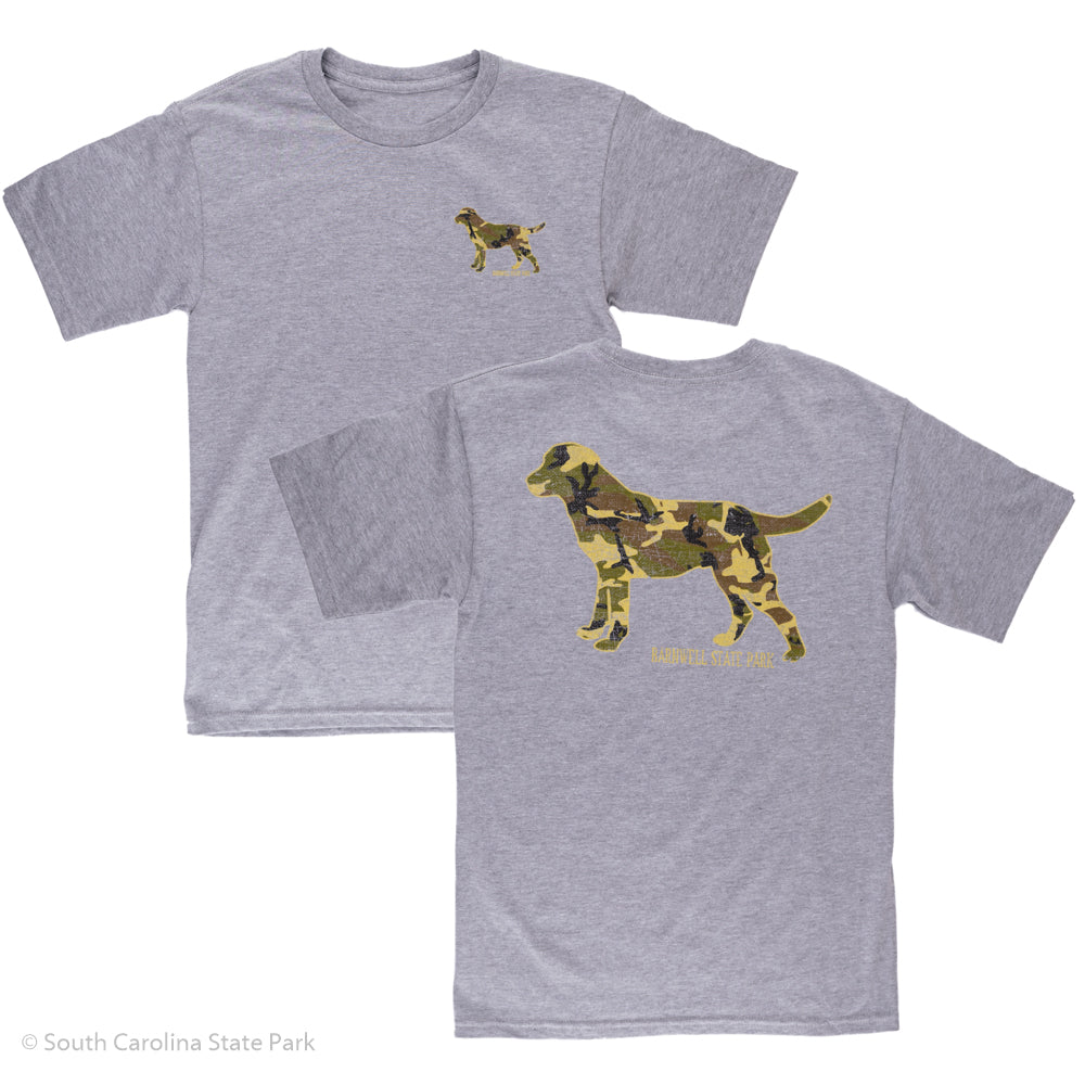 Barnwell State Park Camo Dog T-Shirt
