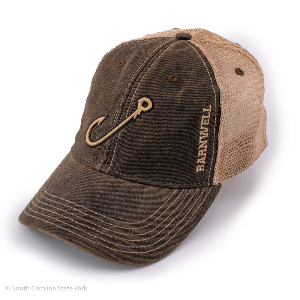 Barnwell State Park Fishing Hook Baseball Hat- South Carolina State Parks