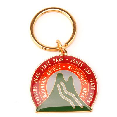 Mountain Bridge Wilderness Area Metal Key Chian - CAEI00793