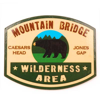Mountain Bridge Wilderness Area Magnet - CAEI01690