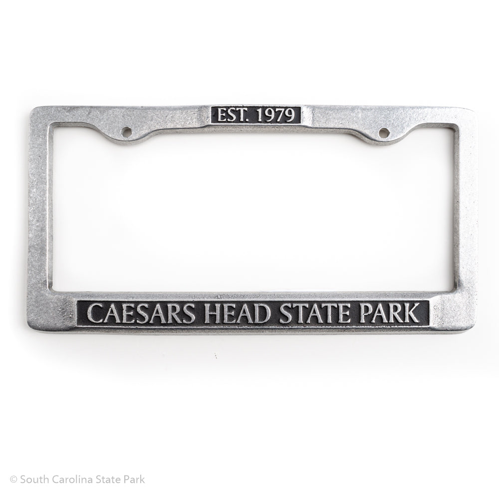 Caesars Head State Park Pewter License Plate