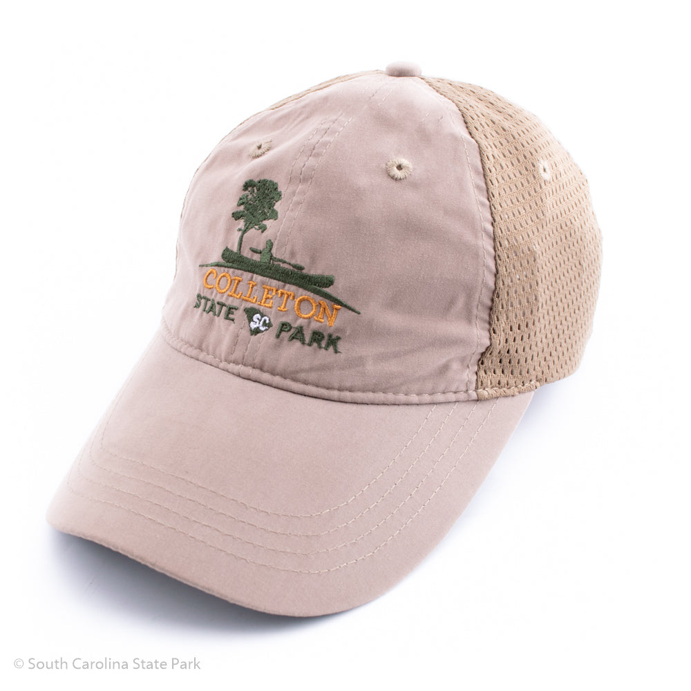 Colleton State Park Quick Dry Logo Hat