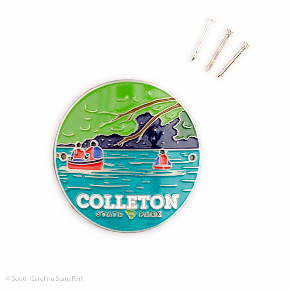 Colleton State Park Hiking Stick Medallion - COLI00141