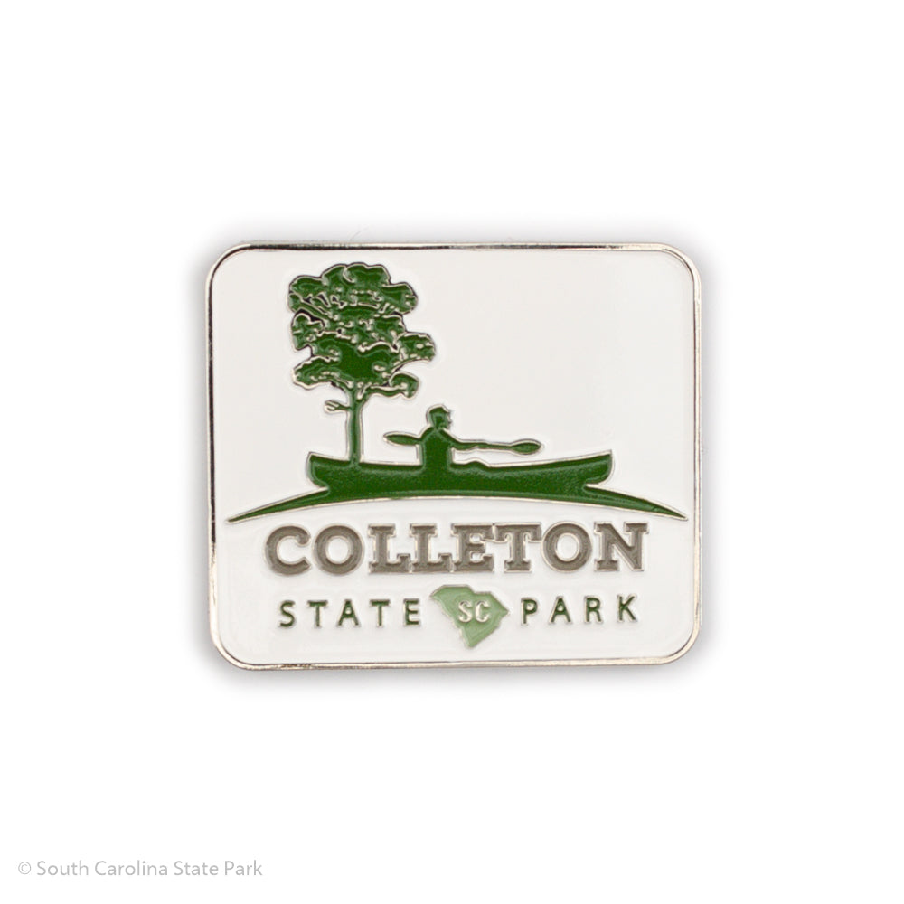 Colleton State Park Die Cast Metal Magnet