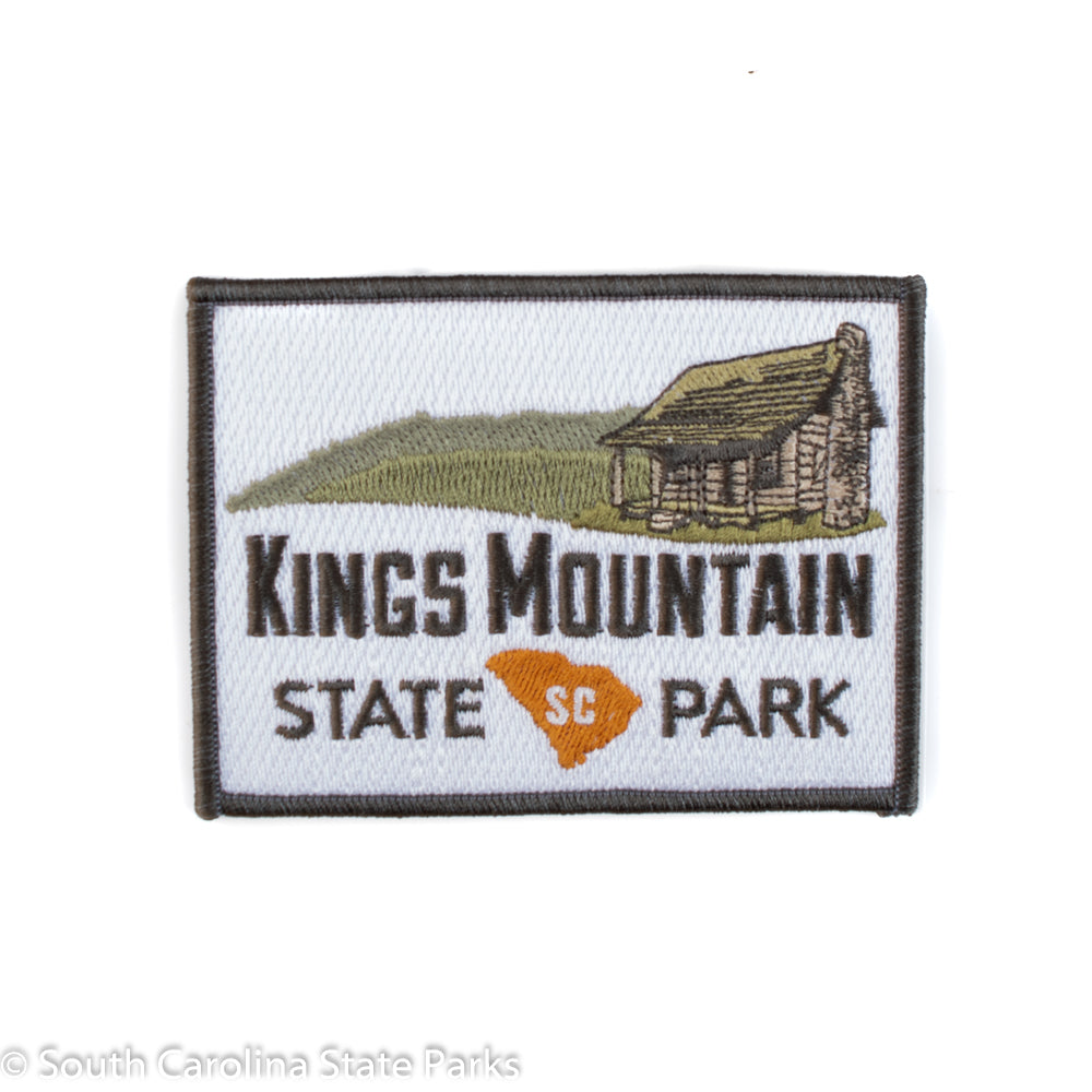 Kings Mountain SC State Park Logo Patch