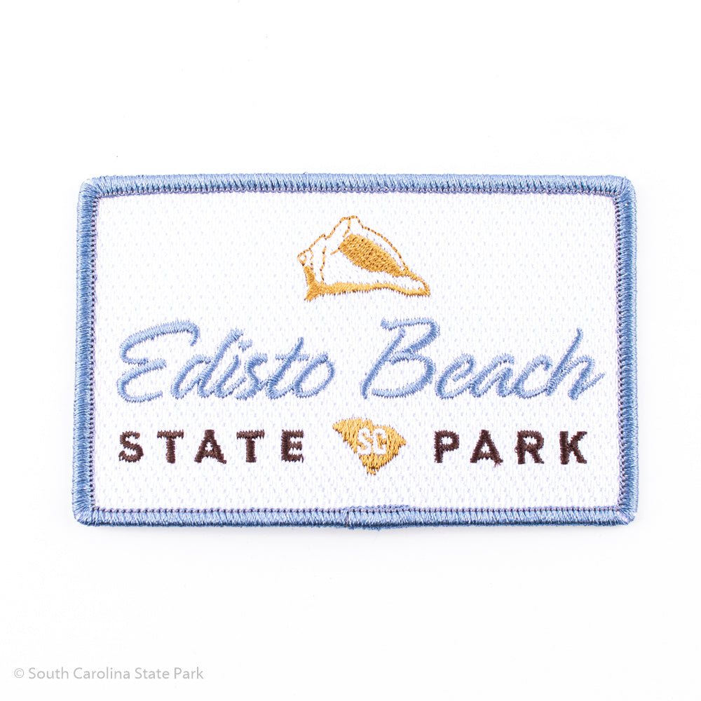 Edisto Beach State Park Logo Patch - ADI01844