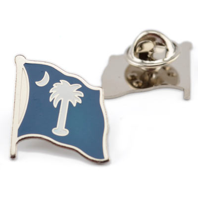 South Carolina Palmetto Flag Lapel Pin - GM00047