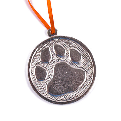 Pewter Tiger Paw Ornament - GM01341