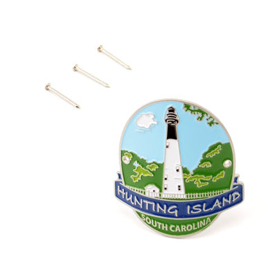 Hunting Island Hiking Stick Medallion - HISI0002687