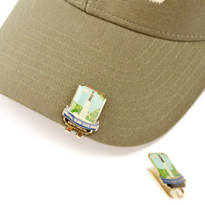 Hunting Island Lighthouse Hat Clip - HISI0003541