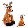 "12"" Stuffed Animal White Tailed Deer - HKSI000459"