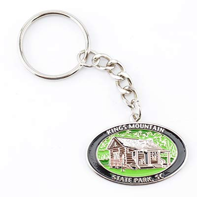 Kings Mountain State Park Oval Keychain - KMI0098