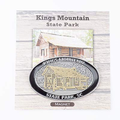 Kings Mountain Oval Farm Magnet - KMI0239