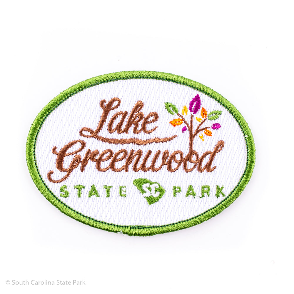 Lake Greenwood State Park Logo Patch - South Carolina State Park