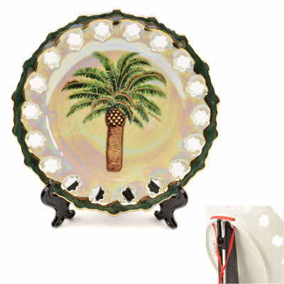 Souvenir Collectible South Carolina Palm Plate - MBPI00402