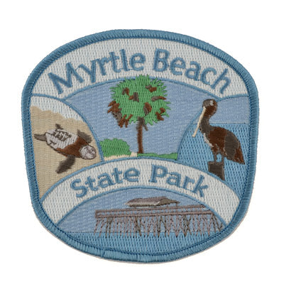 Myrtle Beach State Park Iron-on patch - MBPI01178