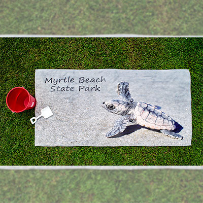 Baby Sea Turtle Beach Towel - MBPI05487