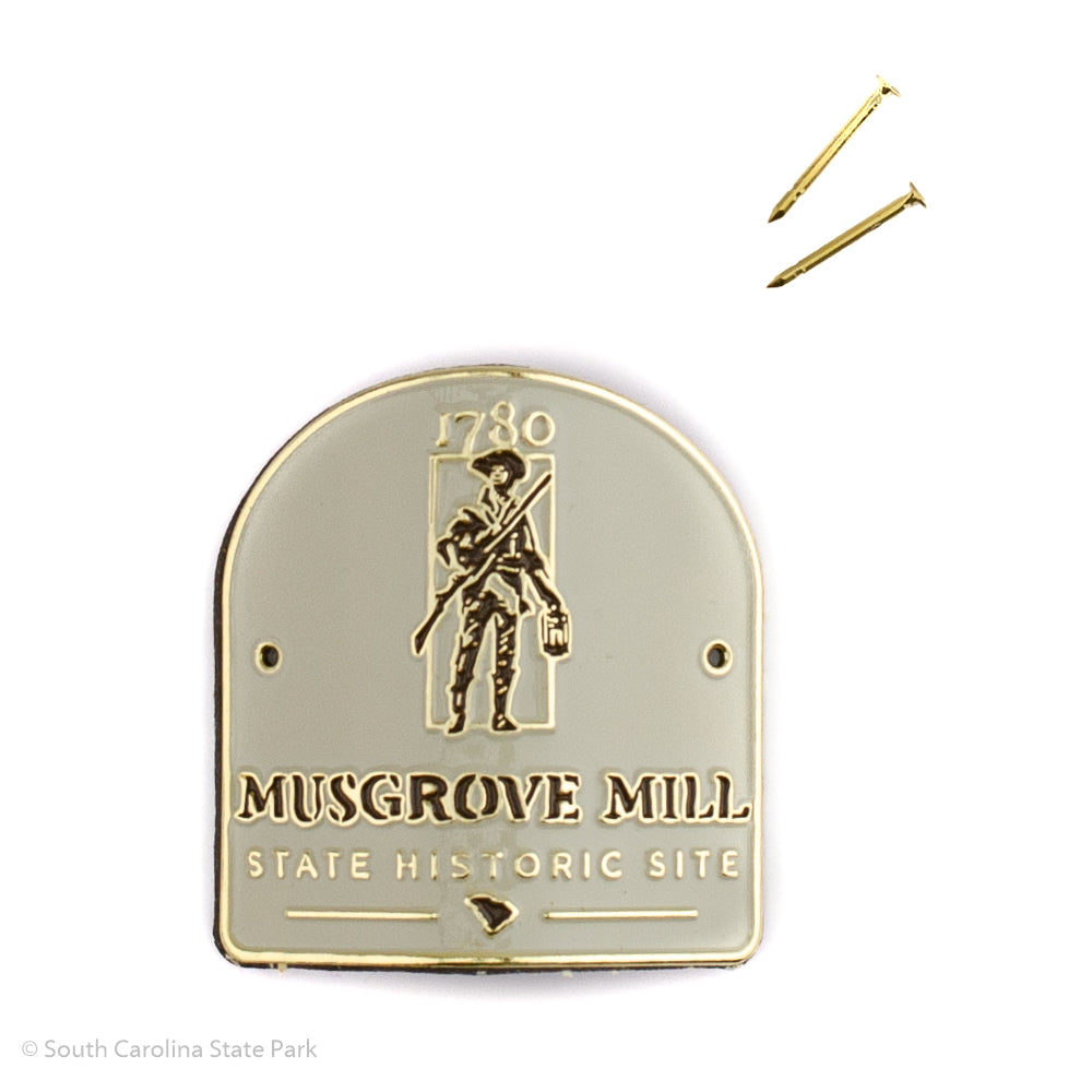 Battle of Musgrove Mill Hiking Stick Medallion - MMII00123