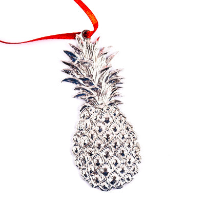 Pewter Pinapple Ornament - SH01836
