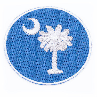 Oval Palmetto and Moon Patch - SH01879