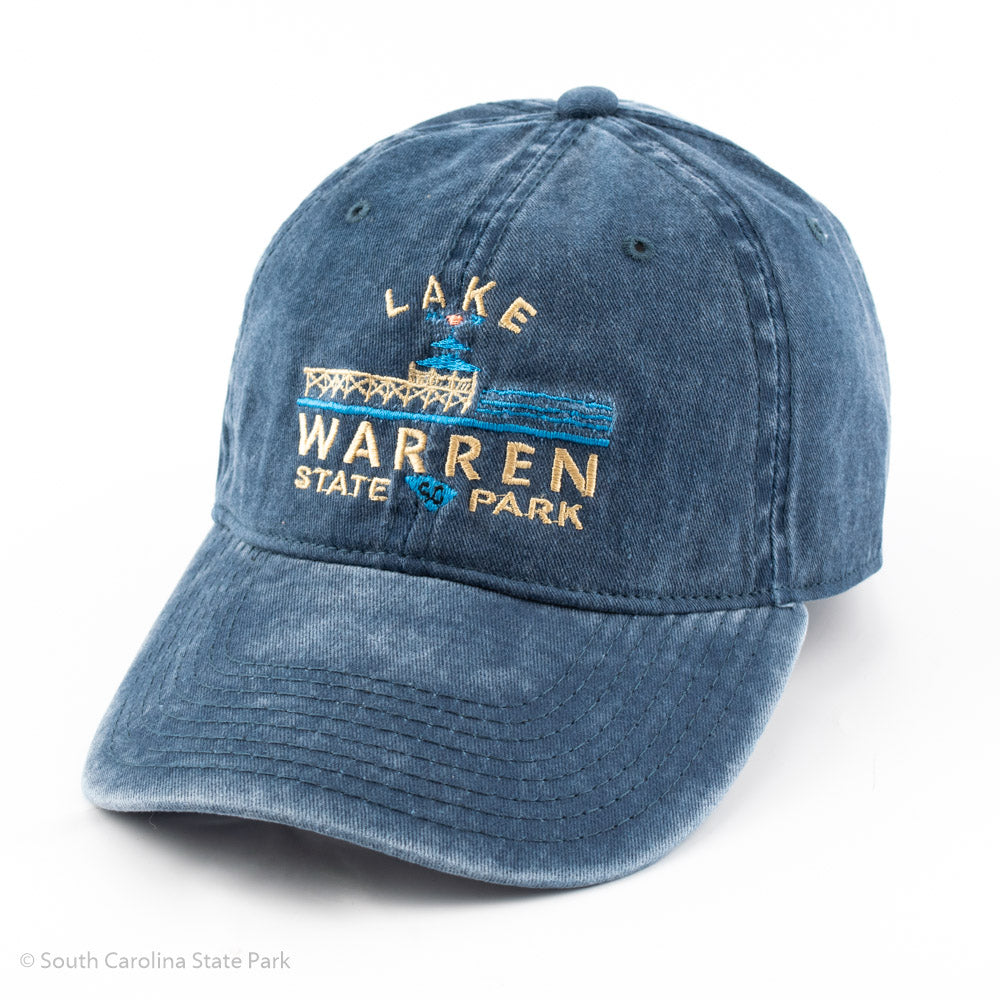Lake Warren Weathered Hat - ADI01810