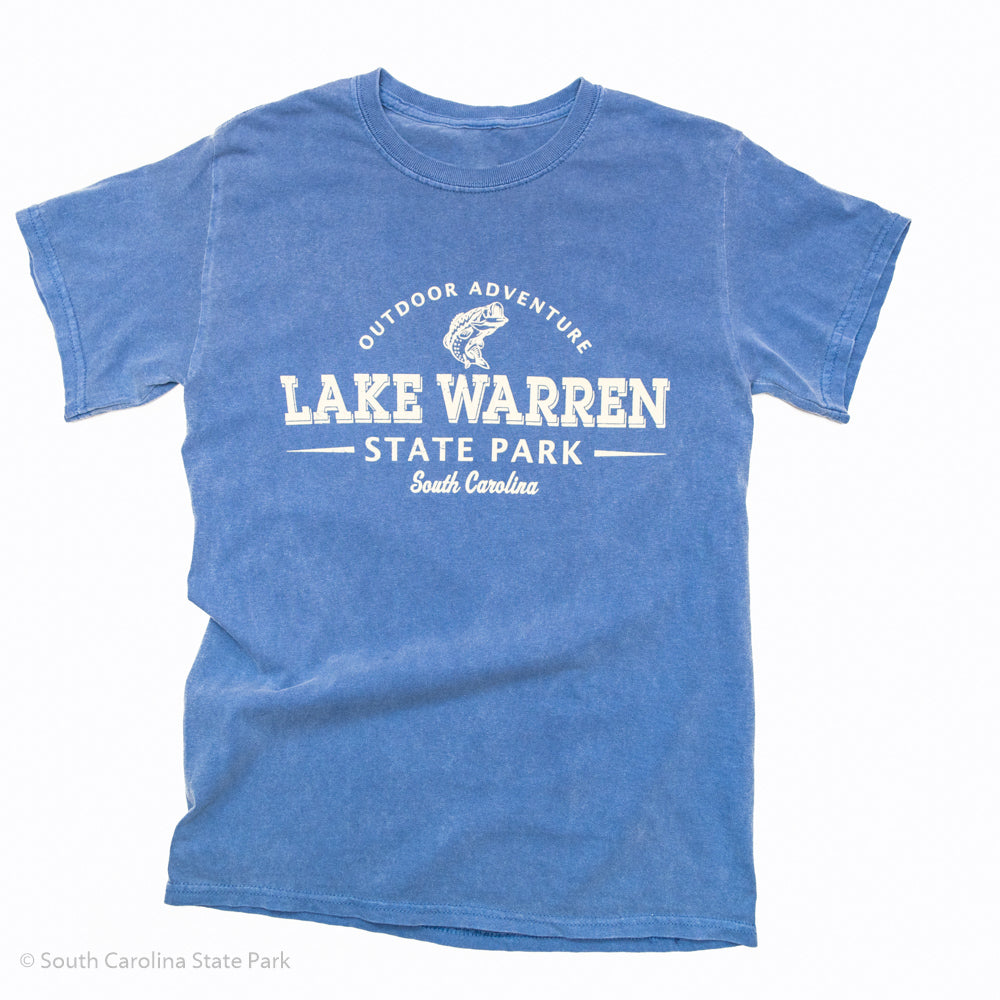 Lake Warren State Park Outdoor Adventure T-Shirt - South Carolina State Parks