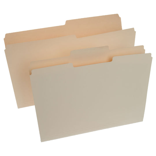Manila Legal Size File Folders