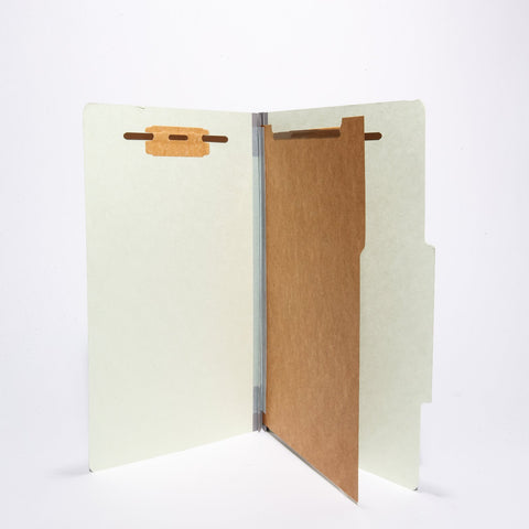 Partition Legal Sized Folders (1 Division with Fasteners)