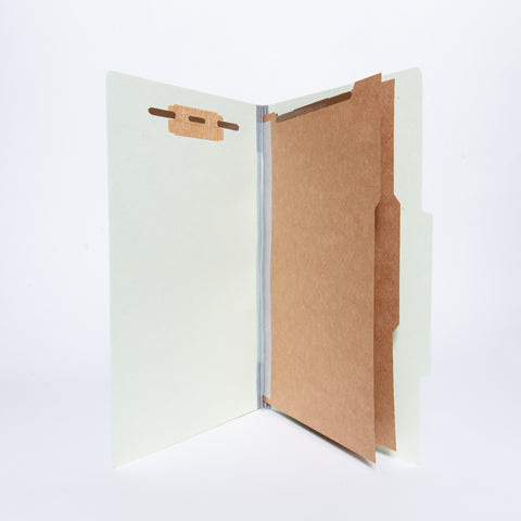 Partition Letter Sized Folders (2 Divisions with Fasteners)