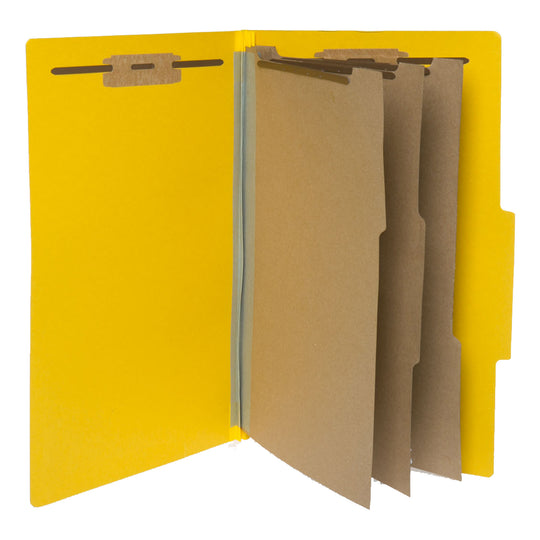 Partition Letter Sized Folders (3 Divisions with Fasteners)