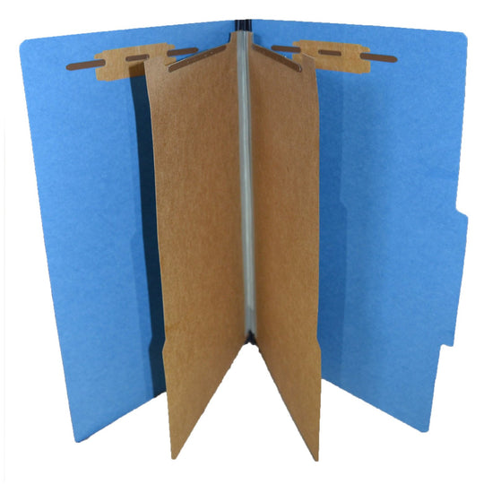 Partition Legal Sized Folders (2 Divisions with Fasteners)