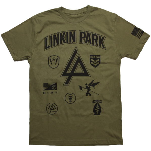 LP Patches Military Green Tee