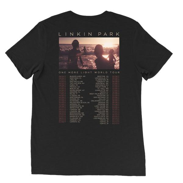 2017 One More Light European Tour Tee