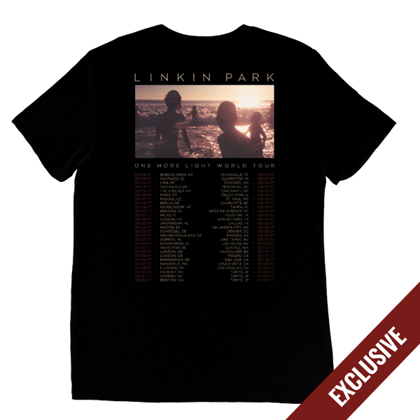 2017 One More Light World Tour Tee