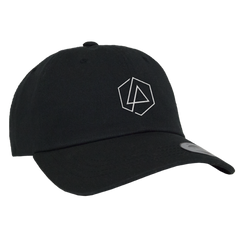 LP Hex Dad Hat-Black