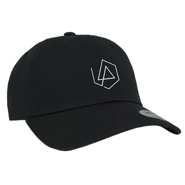 LP Hex Logo Dad Hat - Black