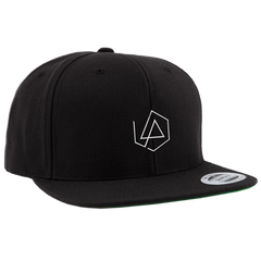 LP Hex Logo Black Snapback Hat