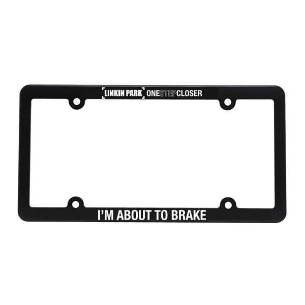 OSC License Plate Frame