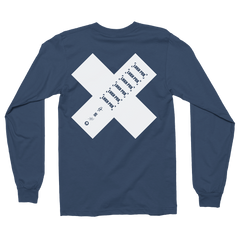 Side Street Soldier Logo X Navy Long Sleeve