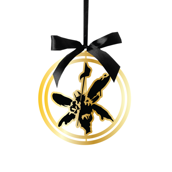 Street Soldier Gold Plated Ornament