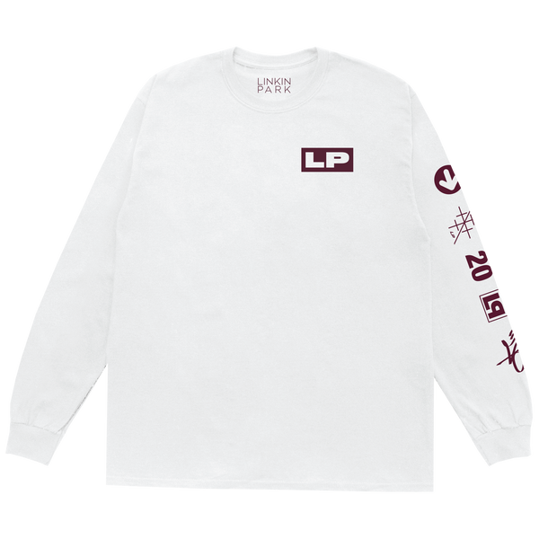 LP HT:20 White Long Sleeve Tee