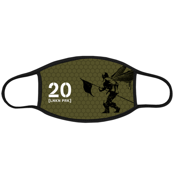 Honeycomb Street Soldier 20 Face Mask