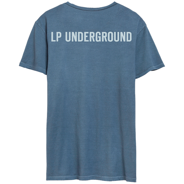 LP Underground Distressed Tee [Dark Blue]