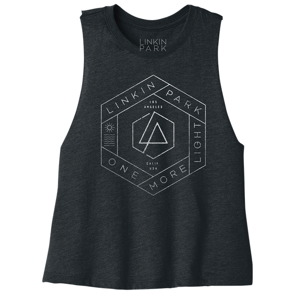 OML Hex Stamp Crop Tank