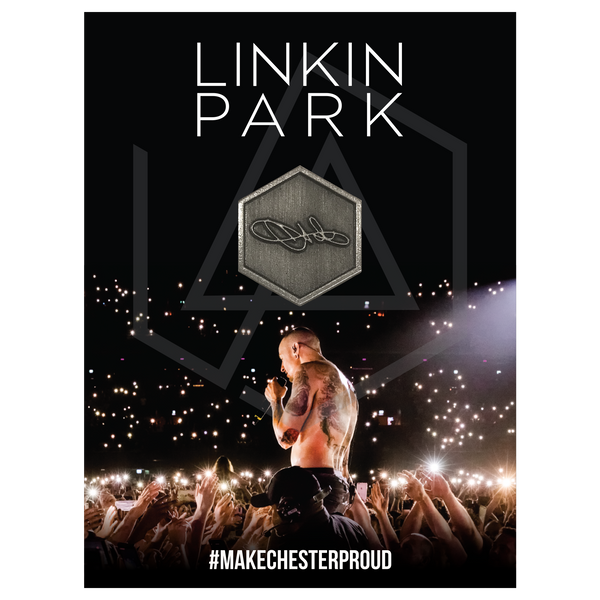 Chester Signature Pin & Photo Tee Bundle