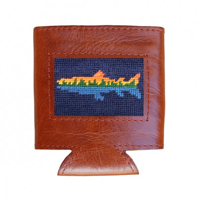 Lake Trout Needlepoint Can Cooler - OnwardReserve